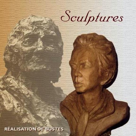 escultura contemporánea busto de hombre. Christian Choquet Christian Choquet