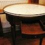 Table bouillote. Bernard Laville