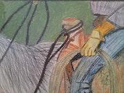 Das Lasso Cowboy. Raenka Le Duigou