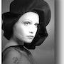 Portrait de Femme 1972. Gilles Bizé