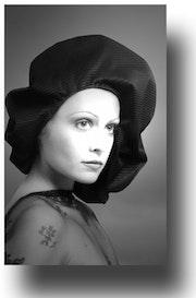 Porträt einer Frau 1972. Gilles Bizé