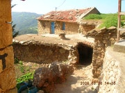 Maison Kabyle en ruine. Ali Cherrak