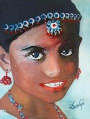 » Jeune Maharani ».