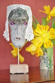 Série des masques : » le légionnaire ».