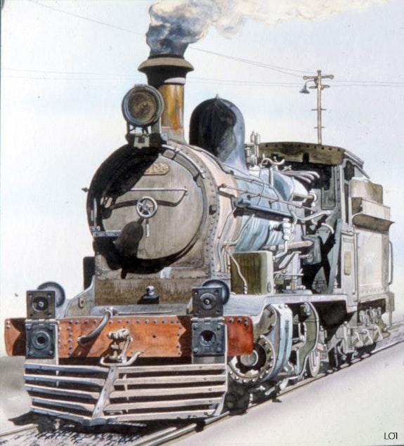 Locomotive. Lawrider Lawrence