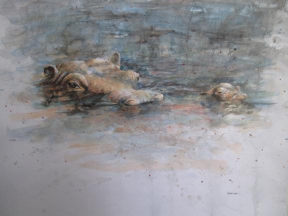 Hippopotames. E. Le Prunenec Elisabeth Le Prunenec