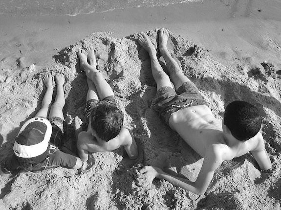 En attendant la mer…. Cecile Seuret Cecile Seuret