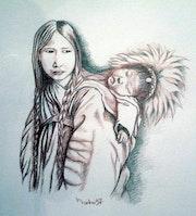 Madone et son enfant.