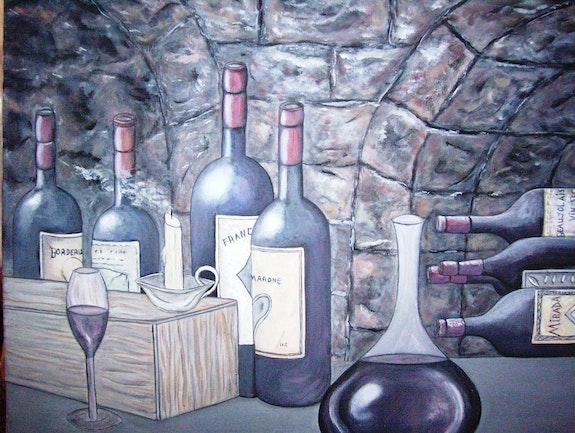 Cave à vin. Danielle Lajeunesse Danielle Lajeunesse