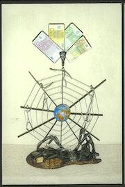 L'araignée monétaire.