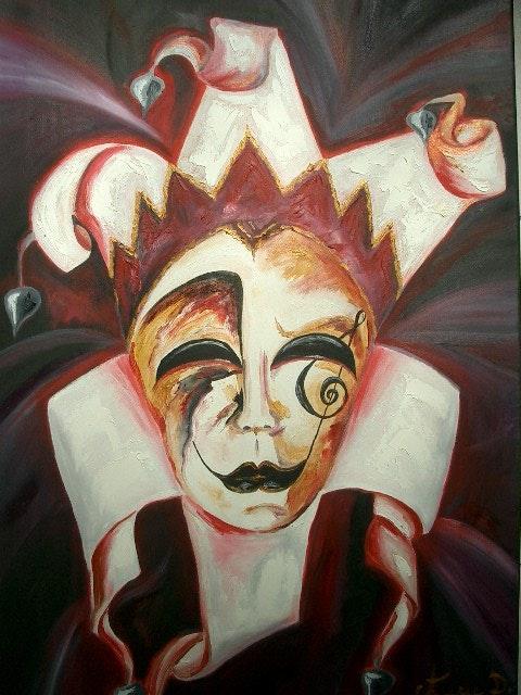 Masque de Venise en musique. Anne D. Anne Delpierre