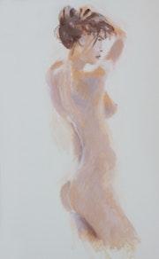 Nue de dos. Michel Lanson