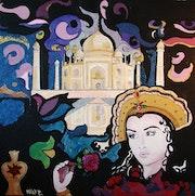 Wie eine Legende: Mumtaz Mahal.