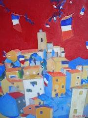 Village en fête. Jacques Blasco