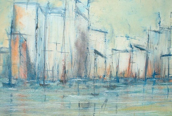 Ciudad sobre el agua. Daniel Aubert Dan