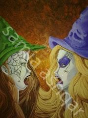 Colère et sorcellerie. Samillustratrice