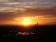 Sydney, soleil couchant,.