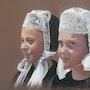 Girls of Bigouden. Marie-Pierre Le Sellin