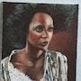 El petróleo africano sobre lienzo. Nathalie Koïn