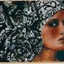 Eva oil on canvas. Nathalie Koïn