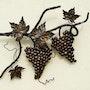 Uvas de hierro forjado. Philippe Goudifa