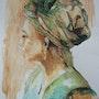 Mujer con turbante. Josianne Liard