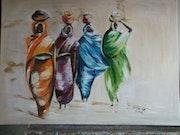 Las mujeres africanas. Josianne Liard
