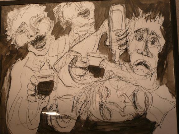 Drinking songs. Bernadette Cazal Bernadette Cazal