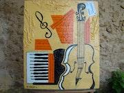 Violin and piano.
