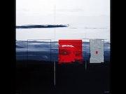 Pintura original de Ludovic Mercher. Nathalie Richard