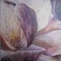 Magnolia (acrylic). Elisabeth Le Prunenec