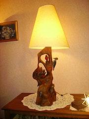 Árbol con los pájaros (la lámpara). Michel Pernin