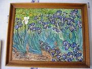 Copy of Van Gogh Iris.