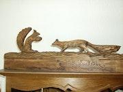 Couple d'écureuils.