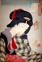 Estampe japonaise. Juan Rafael Puyssegur
