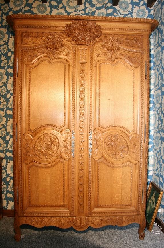 Normande armario de Bray. Satine Jean Marie Delestre