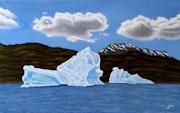 Iceberg in Patagonia.