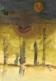 Ombre perdue dans la forêt jaune. Querin Sophie