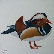 Mandarina duck.