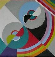 Rythme couleur d'après une oeuvre de Sonia Delaunay.