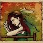Sueño de Otoño - Dibujo composición mixta / color digital. Emystick