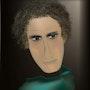«Schauspieler» Digitale Malerei auf Leinwand. Leslie Frank Hollander