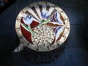 Tulipe Christel. Mosaiste d'art