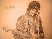 Jimi Hendrix. Chris Vannucci