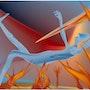 «End» Digital painting on Canvas. Leslie Frank Hollander