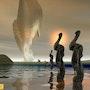 Paysage Plasma 155 - L'étrange apparition -. Lauferartsuisse