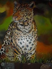 Le léopard.