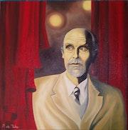 John Malkovich autoportrait.
