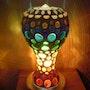 Lampe de table 7 - Chakras. Diana Rosa Scholl