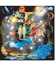 «Adam et Eve» Peinture numérique sur toile.